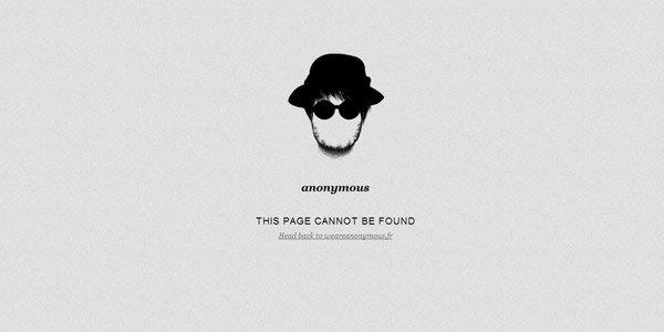创意网站404错误提示页面设计欣赏_佳作欣赏