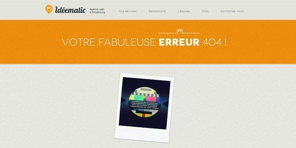 创意网站404错误提示页面设计欣赏_佳作欣赏(2)