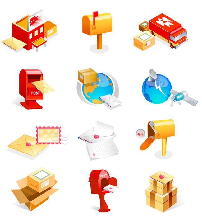信箱/卫星/地球/信件等邮件类矢量图标素材_PNG图标 信箱,卫星,地球,邮包,矢量,图标,素材,加密,PNG图标,网页图标,信封,信件,信纸,矢量素材,模板,EPS,邮件,邮票,卷纸,纸张,email,邮筒,货车,工厂,礼物,纸箱,邮政 (责任编辑:93diy)