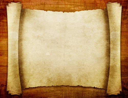 羊皮纸,卷轴,素材
