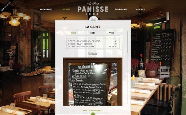 国外食品西餐海鲜餐馆主题网站创意设计_佳作欣赏(3)